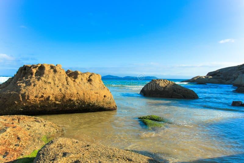 Παραλία scape στοκ εικόνες με δικαίωμα ελεύθερης χρήσης