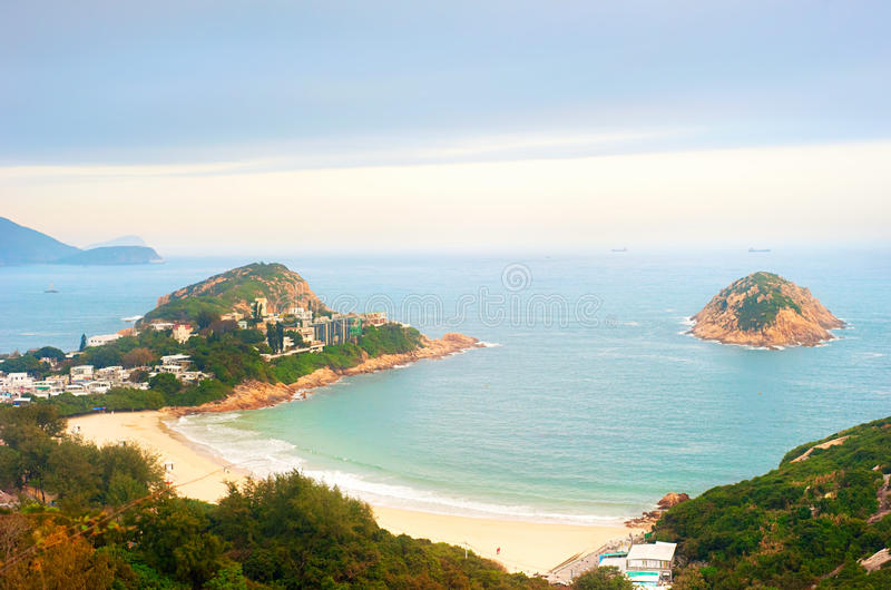 Παραλία Χονγκ Κονγκ στοκ φωτογραφία με δικαίωμα ελεύθερης χρήσης