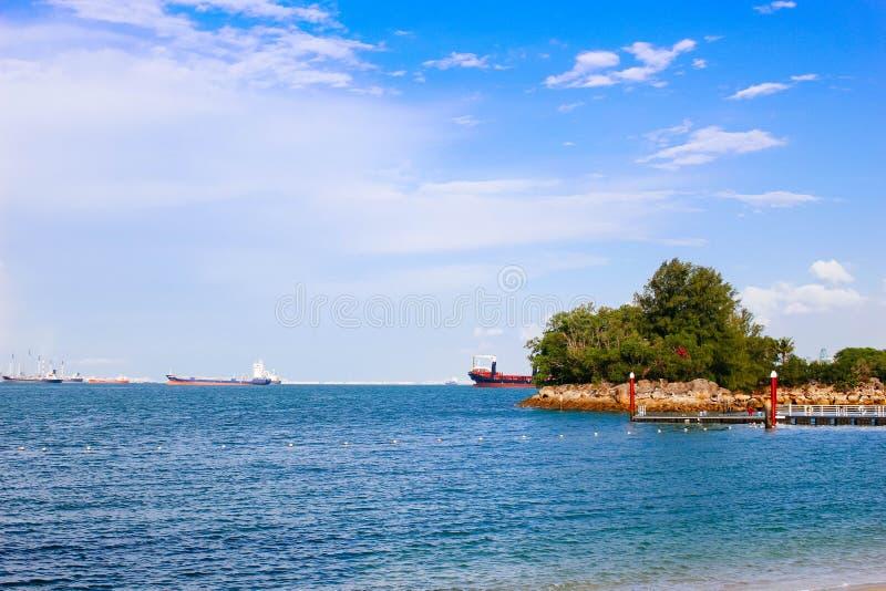 Παραλία Siloso στοκ φωτογραφίες με δικαίωμα ελεύθερης χρήσης
