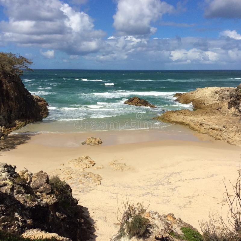 Παραλία Stradbroke στοκ φωτογραφίες με δικαίωμα ελεύθερης χρήσης