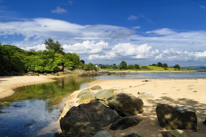 Παραλία Swilly λιμνών στοκ φωτογραφία