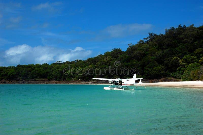 Παραλία Whitehaven σε Whitsundays, Queensland, Αυστραλία. στοκ φωτογραφίες με δικαίωμα ελεύθερης χρήσης