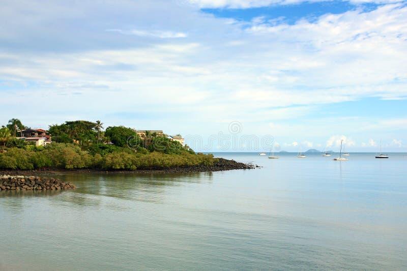 Παραλία Whitsundays Airlie στοκ εικόνες