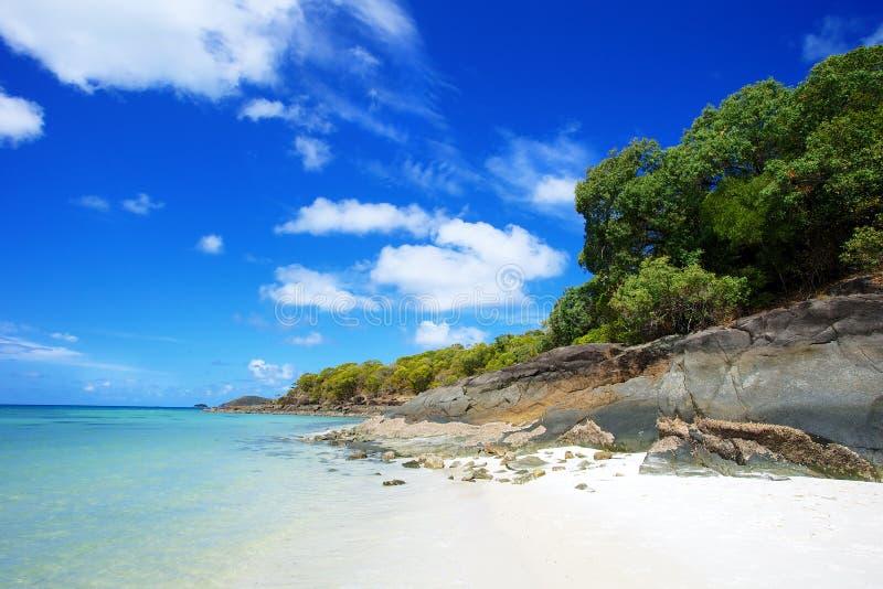 Παραλία Whitsundays Whitehaven στοκ φωτογραφίες