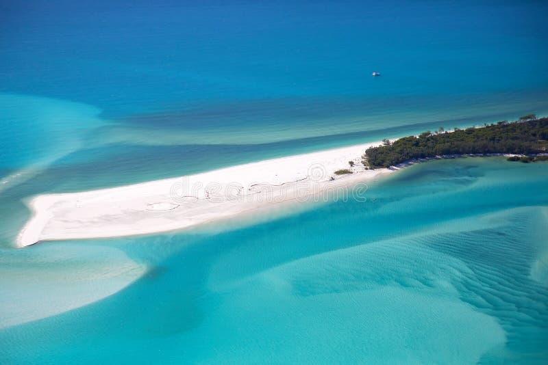 Παραλία Whitsundays Whitehaven στοκ εικόνα με δικαίωμα ελεύθερης χρήσης