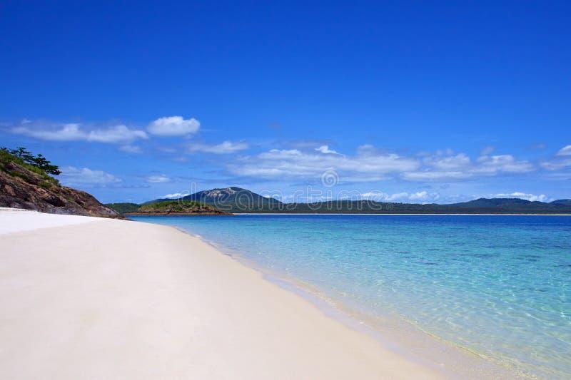 Παραλία Whitsundays Whitehaven στοκ εικόνες