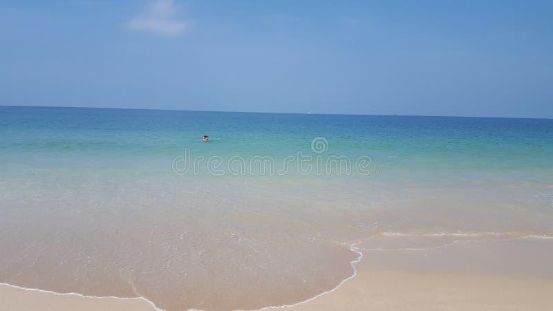 Παραλία Wunderful στοκ φωτογραφία με δικαίωμα ελεύθερης χρήσης