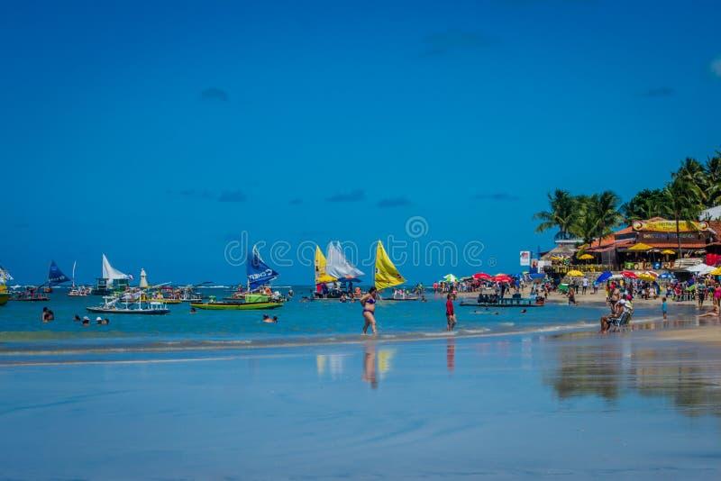 Παραλίες της Βραζιλίας - του Πόρτο de Galinhas στοκ φωτογραφίες