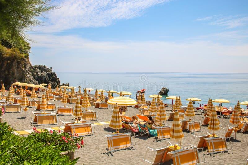 Παραδείσια παραλία Maratea, Βασιλικάτα, Ιταλία στοκ φωτογραφία