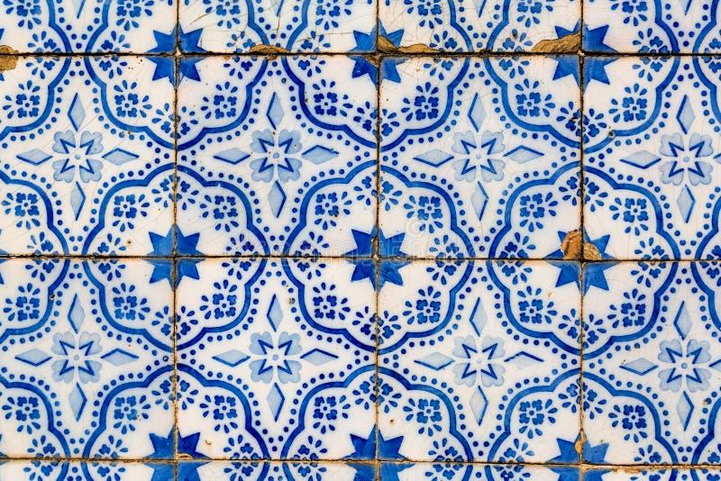 Παραδοσιακά κεραμικά κεραμίδια Azulejos στη Λισσαβώνα στοκ εικόνες