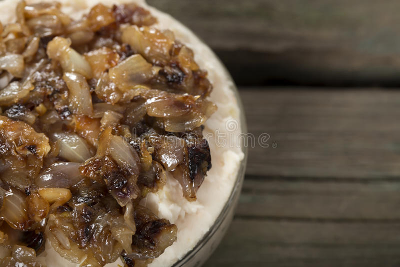 Παραδοσιακά πολτοποίηση τρόφιμα φασόλια στοκ εικόνες με δικαίωμα ελεύθερης χρήσης