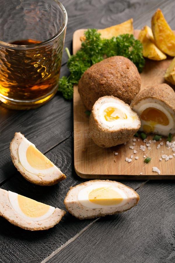 Παραδοσιακά σκωτσέζικα αυγά στοκ φωτογραφία με δικαίωμα ελεύθερης χρήσης