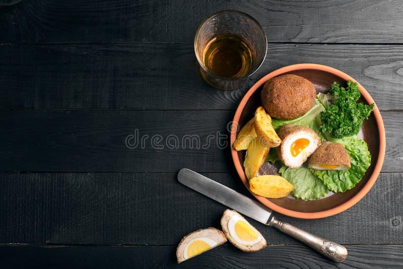 Παραδοσιακά σκωτσέζικα αυγά στοκ εικόνες με δικαίωμα ελεύθερης χρήσης