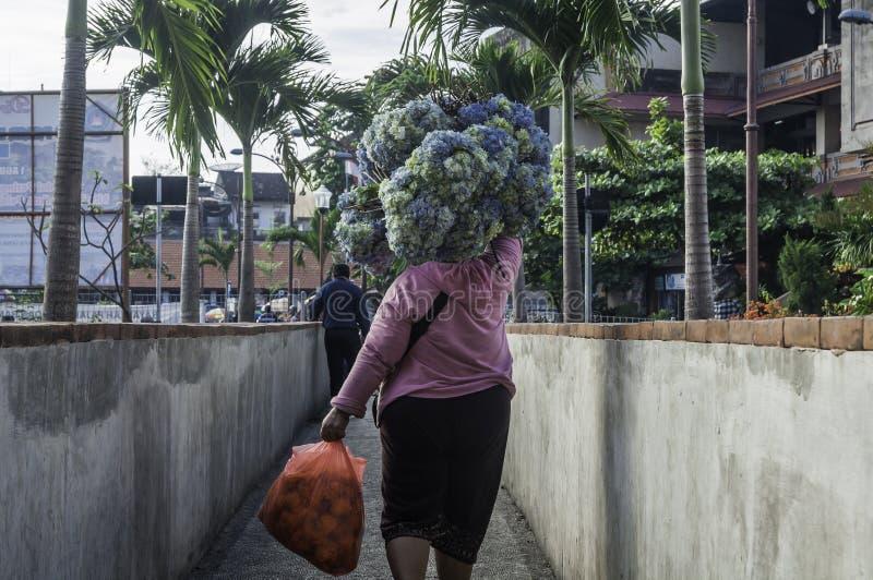 Παραδοσιακή αγορά Badung, Μπαλί - Ινδονησία στοκ φωτογραφίες