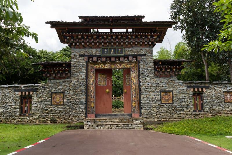 Παραδοσιακή αρχιτεκτονική ραχών στοκ εικόνες με δικαίωμα ελεύθερης χρήσης