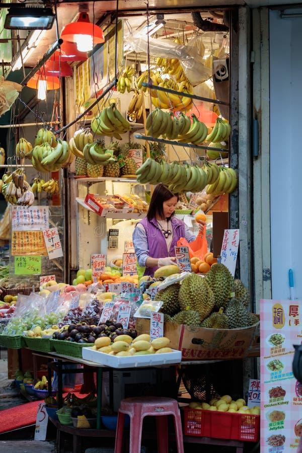 Παραδοσιακή ασιατική αγορά στοκ φωτογραφία