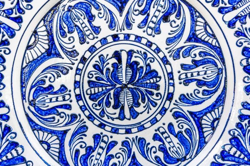 Παραδοσιακή χρωματισμένη αγγειοπλαστική στοκ εικόνα με δικαίωμα ελεύθερης χρήσης