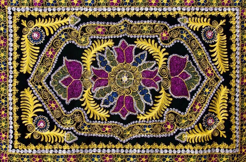 Παραδοσιακός ασιατικός τάπητας στοκ εικόνες με δικαίωμα ελεύθερης χρήσης