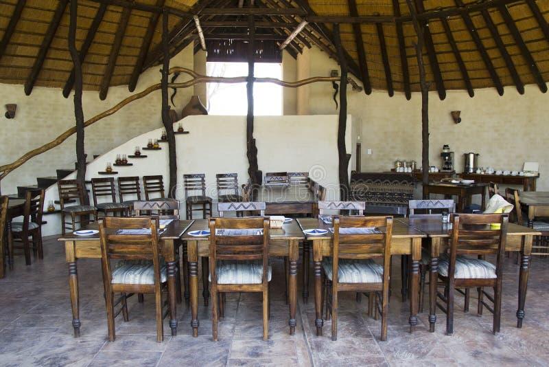 Παραδοσιακό εστιατόριο στη Νότια Αφρική στοκ εικόνες
