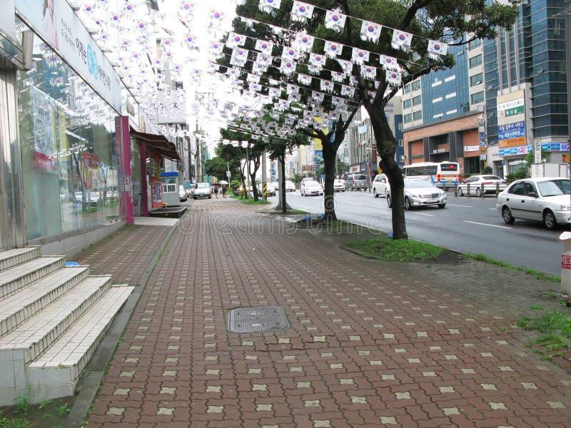 Download Παραδοσιακό κτήριο της Κορέας, νησί Jeju Εκδοτική Στοκ Εικόνες - εικόνα από παραδοσιακός, γαλήνιος: 62715673