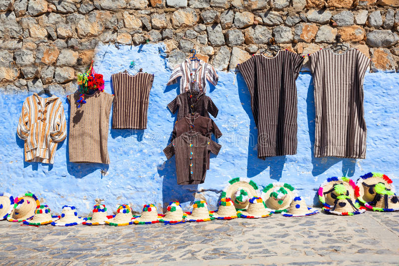 Παραδοσιακό μαροκινό κλωστοϋφαντουργικό προϊόν στοκ φωτογραφίες