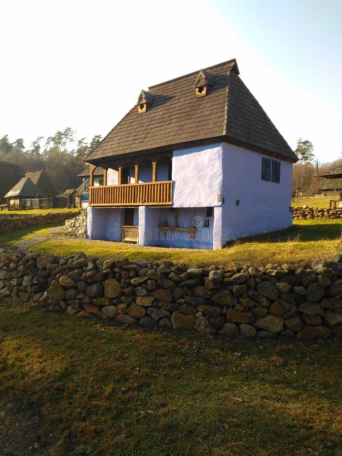 Παραδοσιακό σπίτι, Ρουμανία στοκ εικόνα
