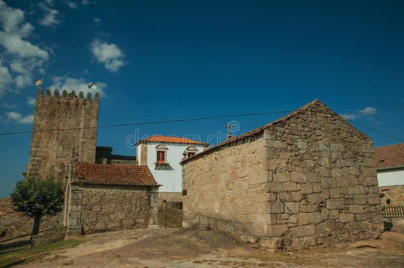 Παρεκκλησια Αγίου Anthony και Calvary με τους τοίχους πετρών στοκ φωτογραφίες με δικαίωμα ελεύθερης χρήσης