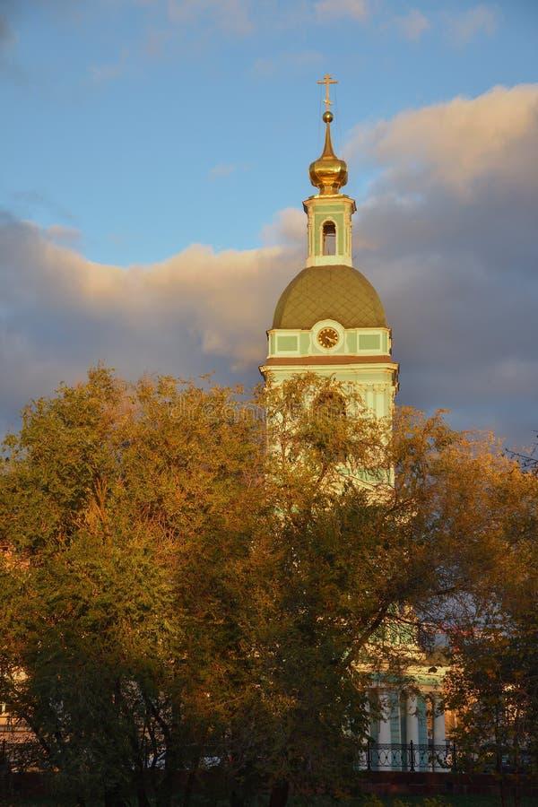 Παρεκκλησι στον ήλιο το φθινόπωρο στοκ φωτογραφία με δικαίωμα ελεύθερης χρήσης