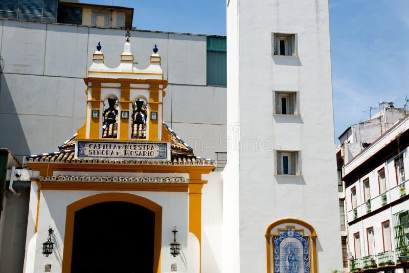 Παρεκκλησι ` Nuestra Senora del Ροσάριο ` στοκ εικόνες