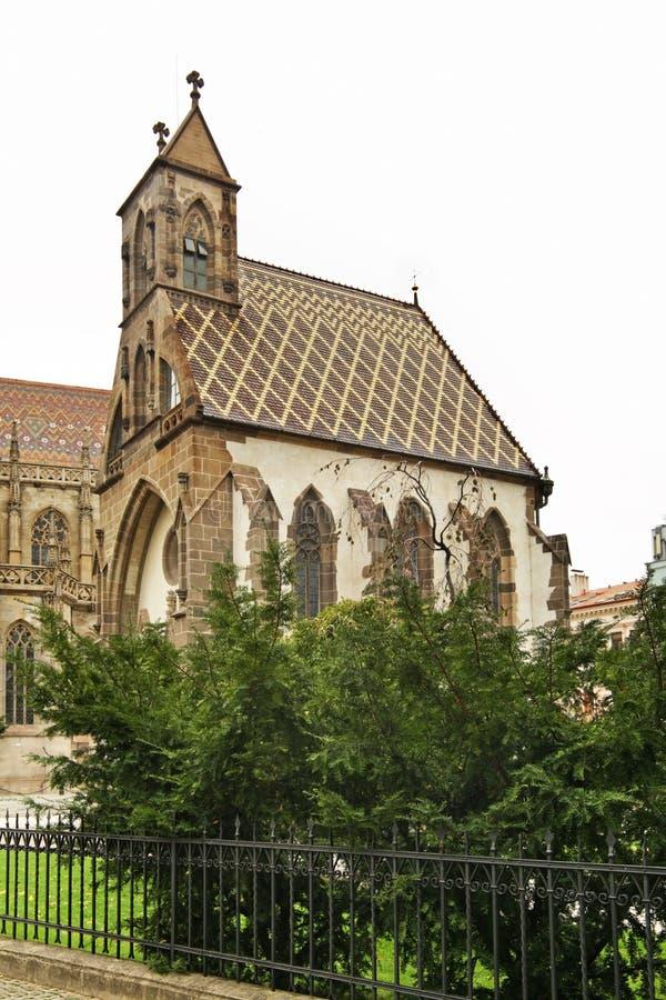 Παρεκκλησι ST Michael σε Kosice Σλοβακία στοκ εικόνα
