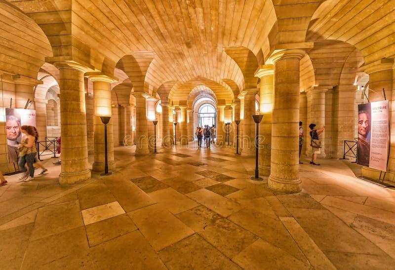 ΠΑΡΙΣΙ - ΤΟΝ ΙΟΎΝΙΟ ΤΟΥ 2014 CIRCA: Εσωτερικό Pantheon στοκ φωτογραφίες με δικαίωμα ελεύθερης χρήσης