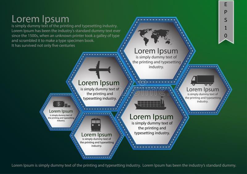 Παρουσίαση, αφίσα, φυλλάδιο, YER ΛΦ, γραφικό πρότυπο σχεδίου πληροφοριών ελεύθερη απεικόνιση δικαιώματος
