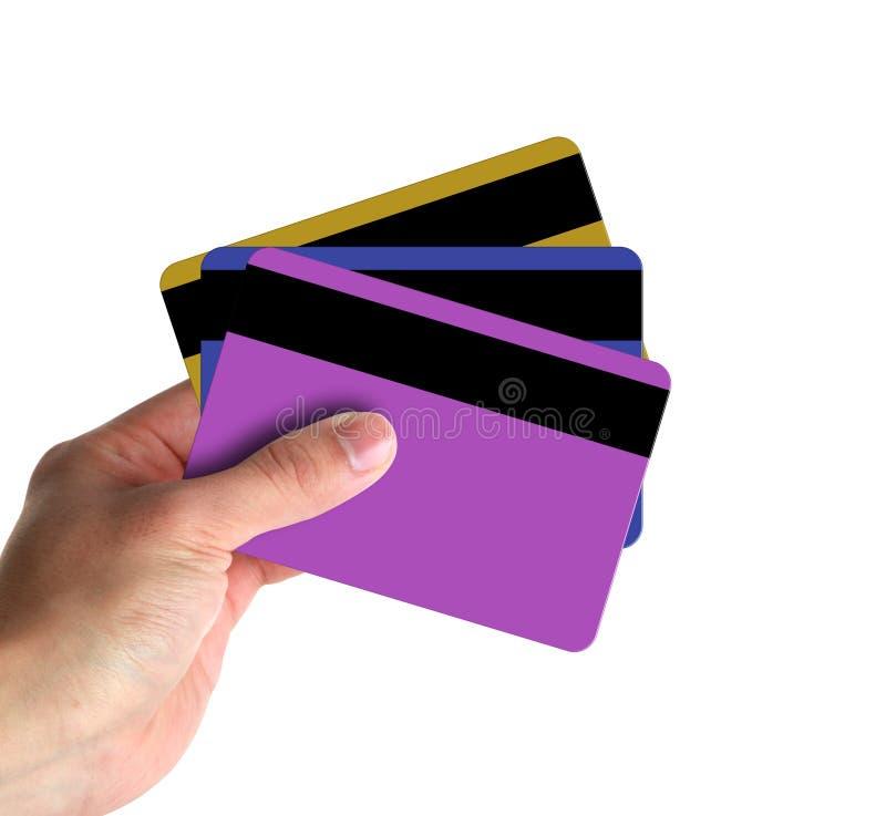 Παρουσίαση πιστωτικών καρτών στοκ φωτογραφίες