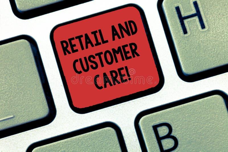 Παρουσίαση σημειώσεων γραψίματος λιανικώς και προσοχή πελατών Κατάστημα βοήθειας αγορών επίδειξης επιχειρησιακών φωτογραφιών που  στοκ εικόνες
