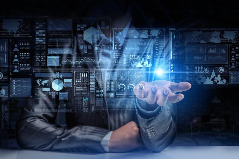Παρουσίαση των καινοτόμων τεχνολογιών Μικτά μέσα στοκ εικόνες