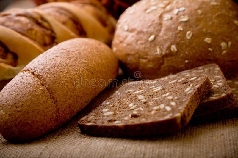 παρουσίαση ψωμιού στοκ εικόνες