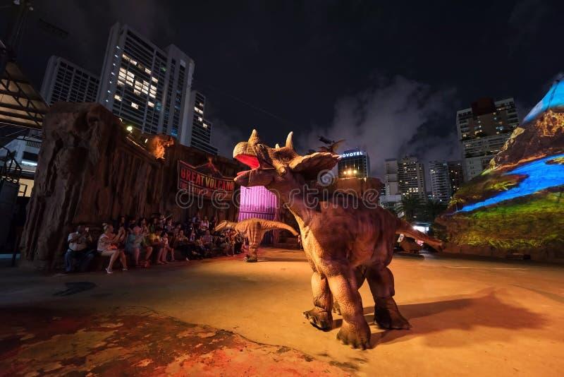 παρουσιάστε στον πλανήτη δεινοσαύρων στοκ εικόνα