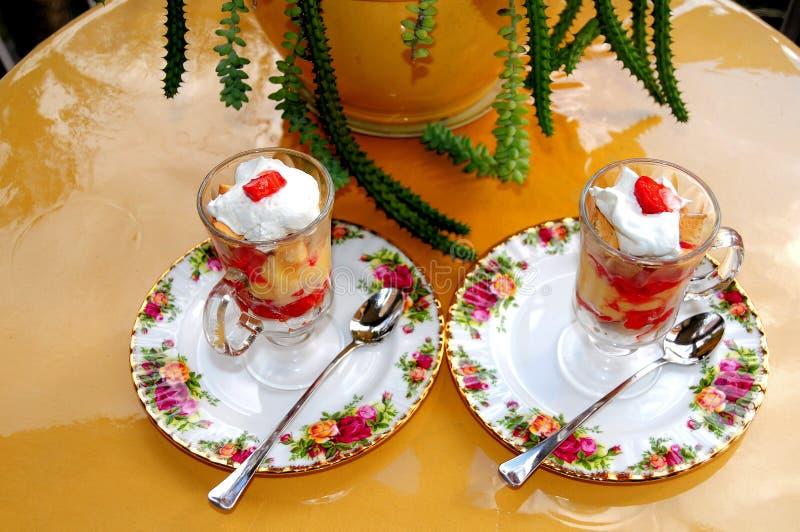 Παρφαί φραουλών στοκ φωτογραφία με δικαίωμα ελεύθερης χρήσης