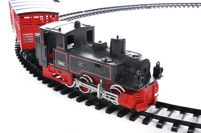 παρόν τραίνο παιχνιδιών στοκ εικόνα με δικαίωμα ελεύθερης χρήσης