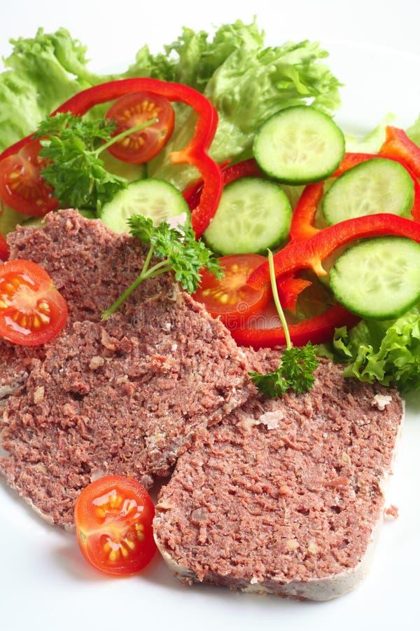 παστή σαλάτα βόειου κρέατ&om στοκ εικόνες