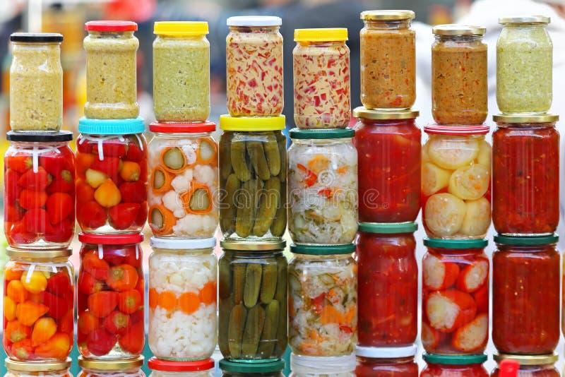 παστωμένα λαχανικά στοκ φωτογραφίες