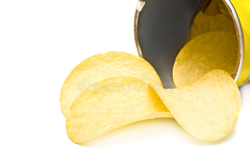 πατάτα τσιπ στοκ φωτογραφία