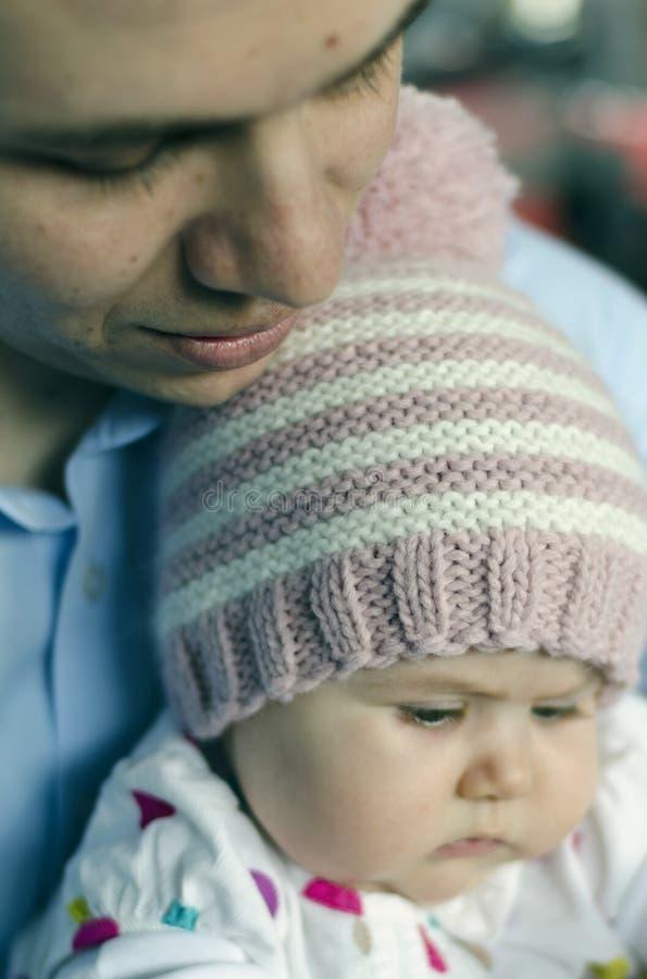 Πατέρας και μωρό στοκ φωτογραφίες