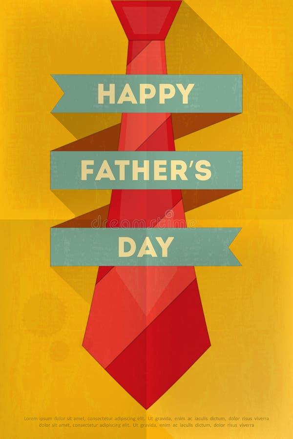 πατέρας s ημέρας διανυσματική απεικόνιση
