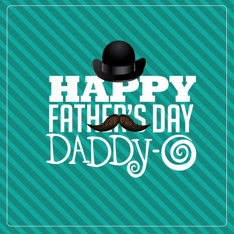 πατέρες ημέρας ευτυχείς ελεύθερη απεικόνιση δικαιώματος
