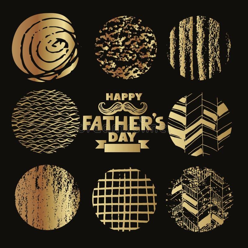 Πατέρες Day5 διανυσματική απεικόνιση