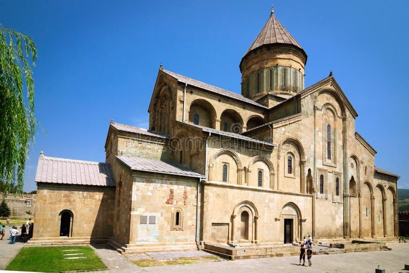 Πατριαρχικός καθεδρικός ναός της της Γεωργίας Ορθόδοξης Εκκλησίας στοκ εικόνα