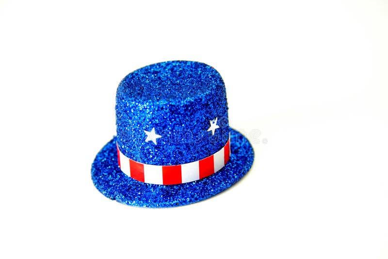 πατριωτική κορυφή καπέλων στοκ φωτογραφία με δικαίωμα ελεύθερης χρήσης