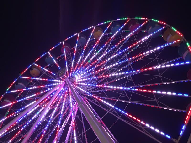 Πατριωτική ρόδα Ferris στοκ φωτογραφία με δικαίωμα ελεύθερης χρήσης