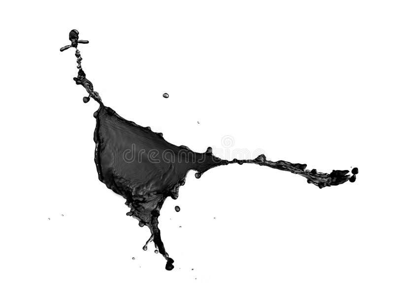 Παφλασμοί του ρύπου στοκ φωτογραφία με δικαίωμα ελεύθερης χρήσης